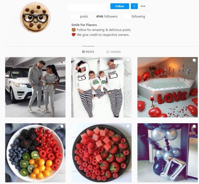 500K Fashion Instagram account for sale