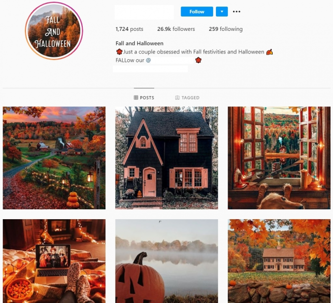 26K Nature Photography Instagram Account for Sale
