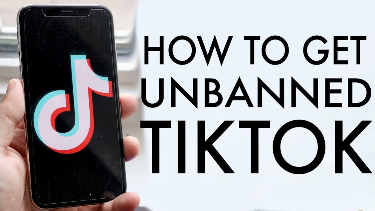 How to get unbanned from TikTok
