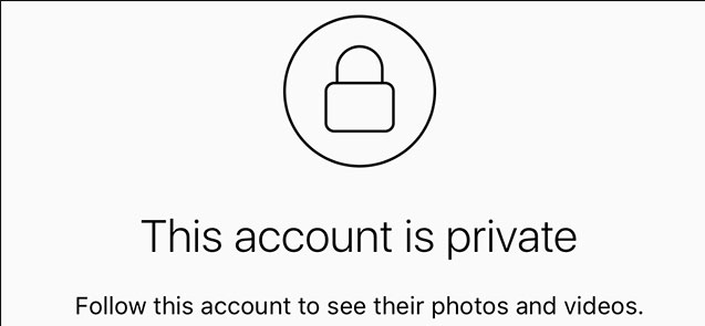 Is it possible to view a private Instagram account