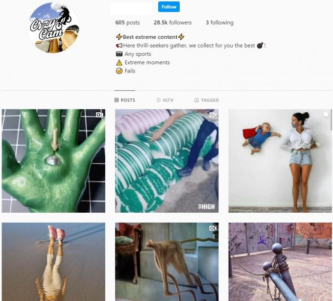 28K Viral Videos Instagram Account for Sale