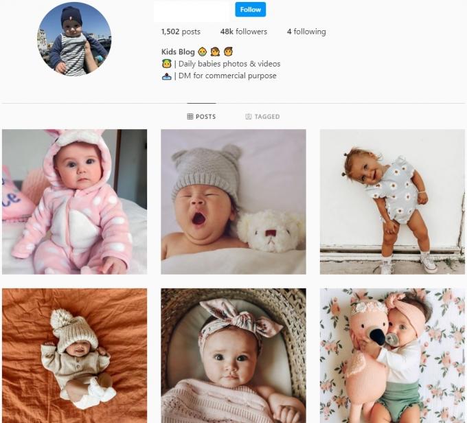48K Babies Kids Instagram Account for Sale